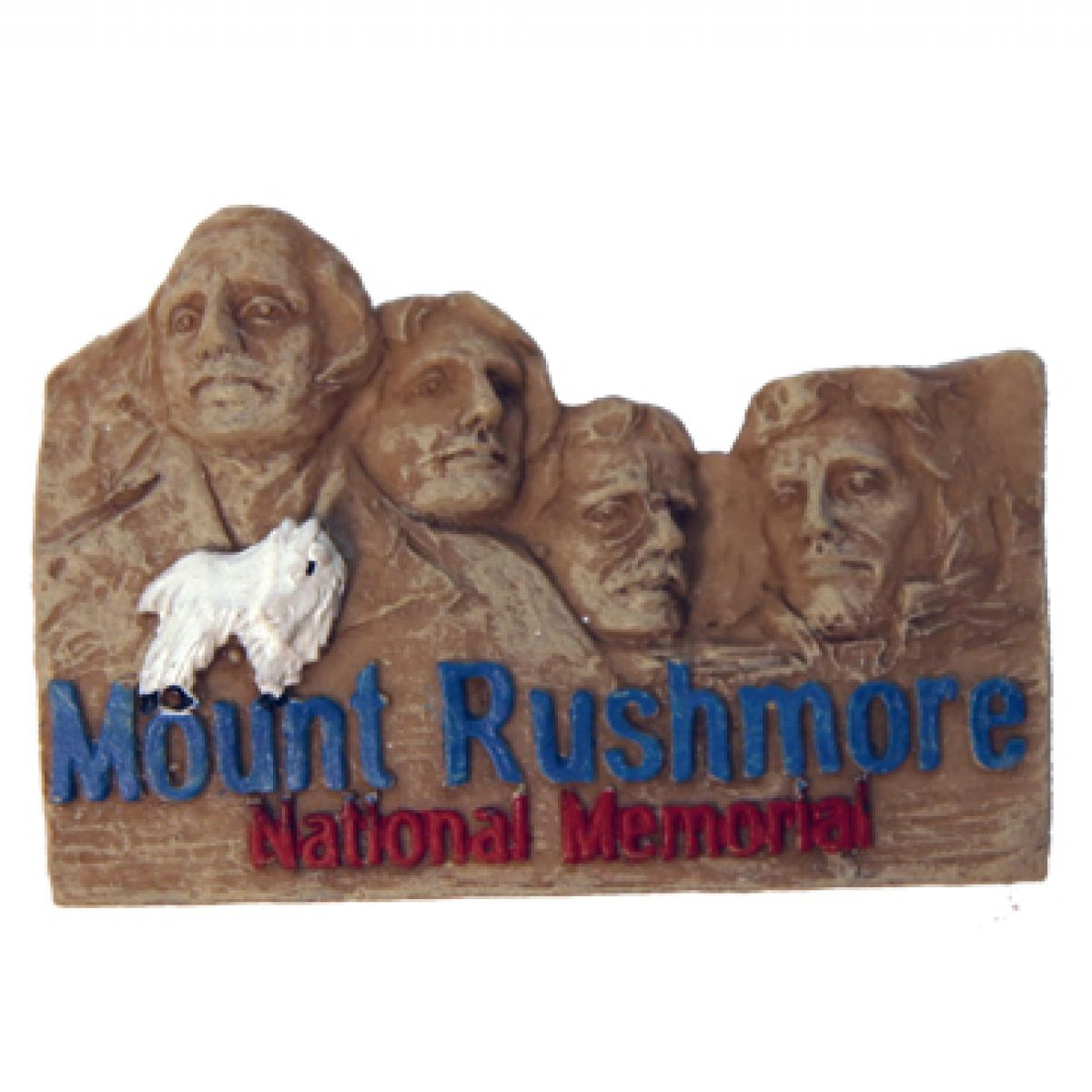 MOUNT RUSHMORE POLY MAGNET