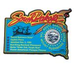 SOUTH DAKOTA STATE HISTORY MAGNET