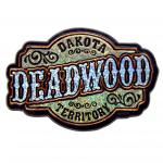 DEADWOOD SPARKLE SCRIPT MAGNET