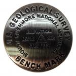 MOUNT RUSHMORE BENCH MARK MAGNET