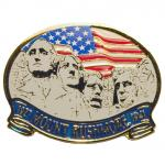MOUNT RUSHMORE WITH FLAG MAGNET