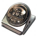 DEADWOOD PEWTER MEMO CLIP MAGNET
