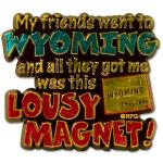 WYOMING LOUSY MAGNET