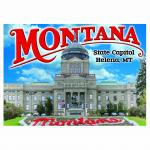 "MONTANA STATE CAPITAL 2.5"" X 3.5"" MAGNET"