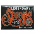 "STURGIS, SD PINK PAISLEY 2.5"" X 3.5"" MAGNET"