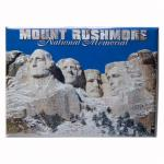 "MOUNT RUSHMORE IN THE SNOW 2.5"" X 3.5"" MAGNET"