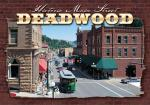 "DEADWOOD MAIN STREET 2.5"" X 3.5"" MAGNET"