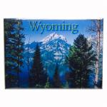 "WYOMING BLUE LAKE 2.5"" X 3.5"" MAGNET"