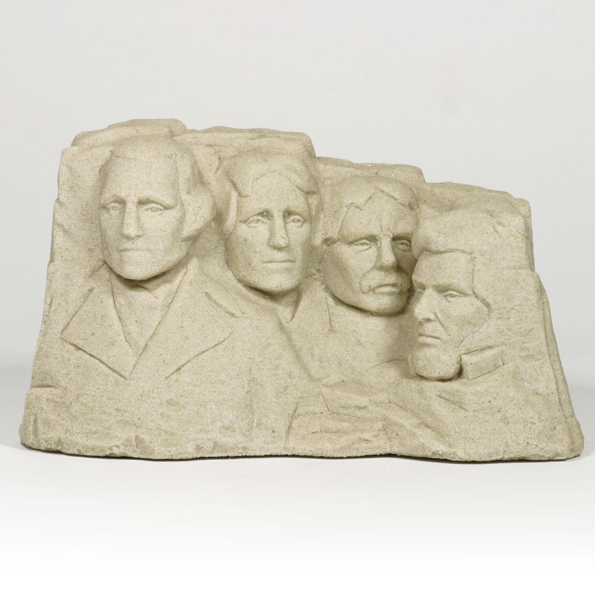 MOUNT RUSHMORE LARGE SOUTH DAKOTA MADE SAND CASTING
