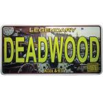 DEADWOOD LICENSE PLATE