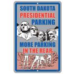 "SOUTH DAKOTA TIN SIGN 18""x12"""