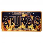 STURGIS, SD LICENSE PLATE
