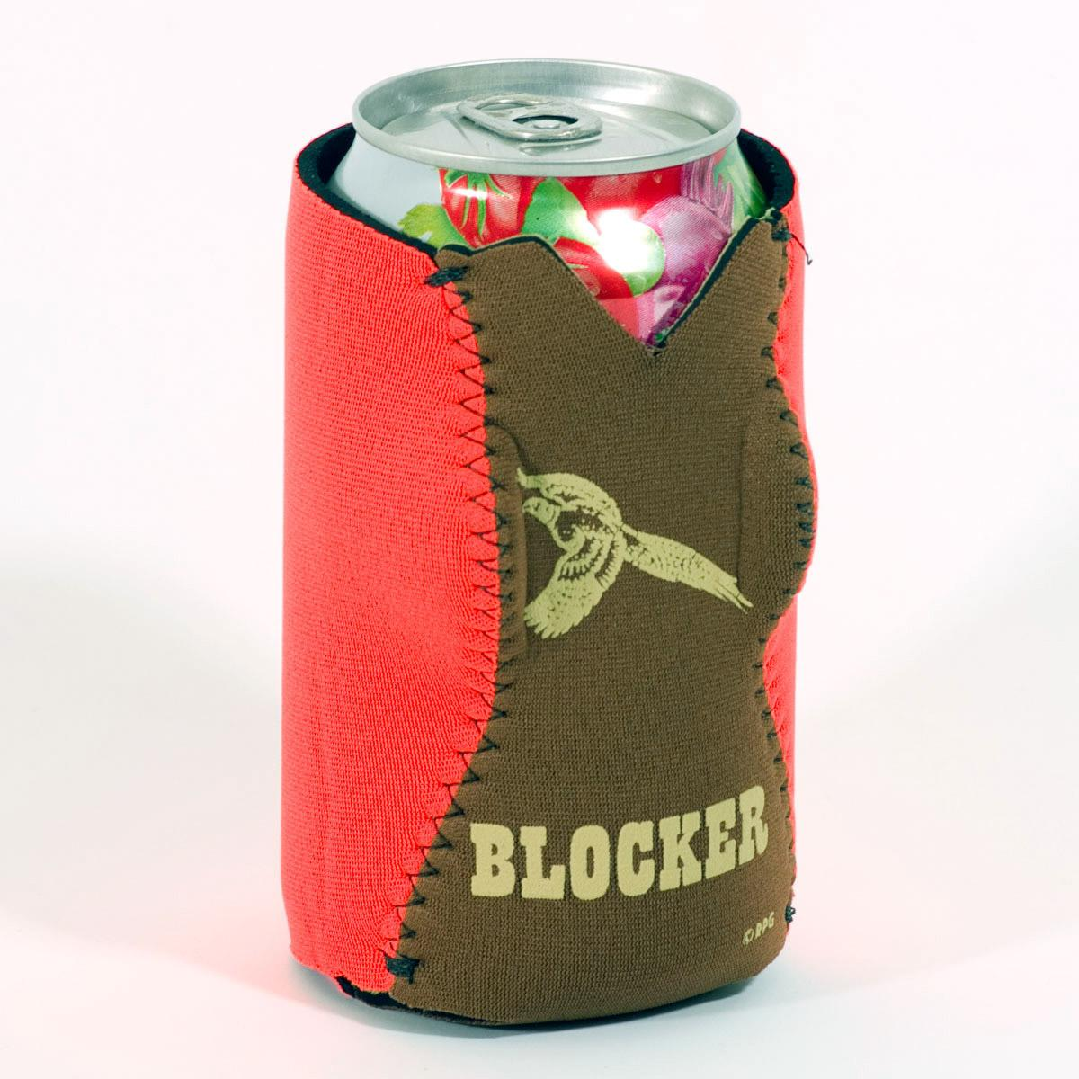 HUNTING ORANGE BABE CAN COOZIE