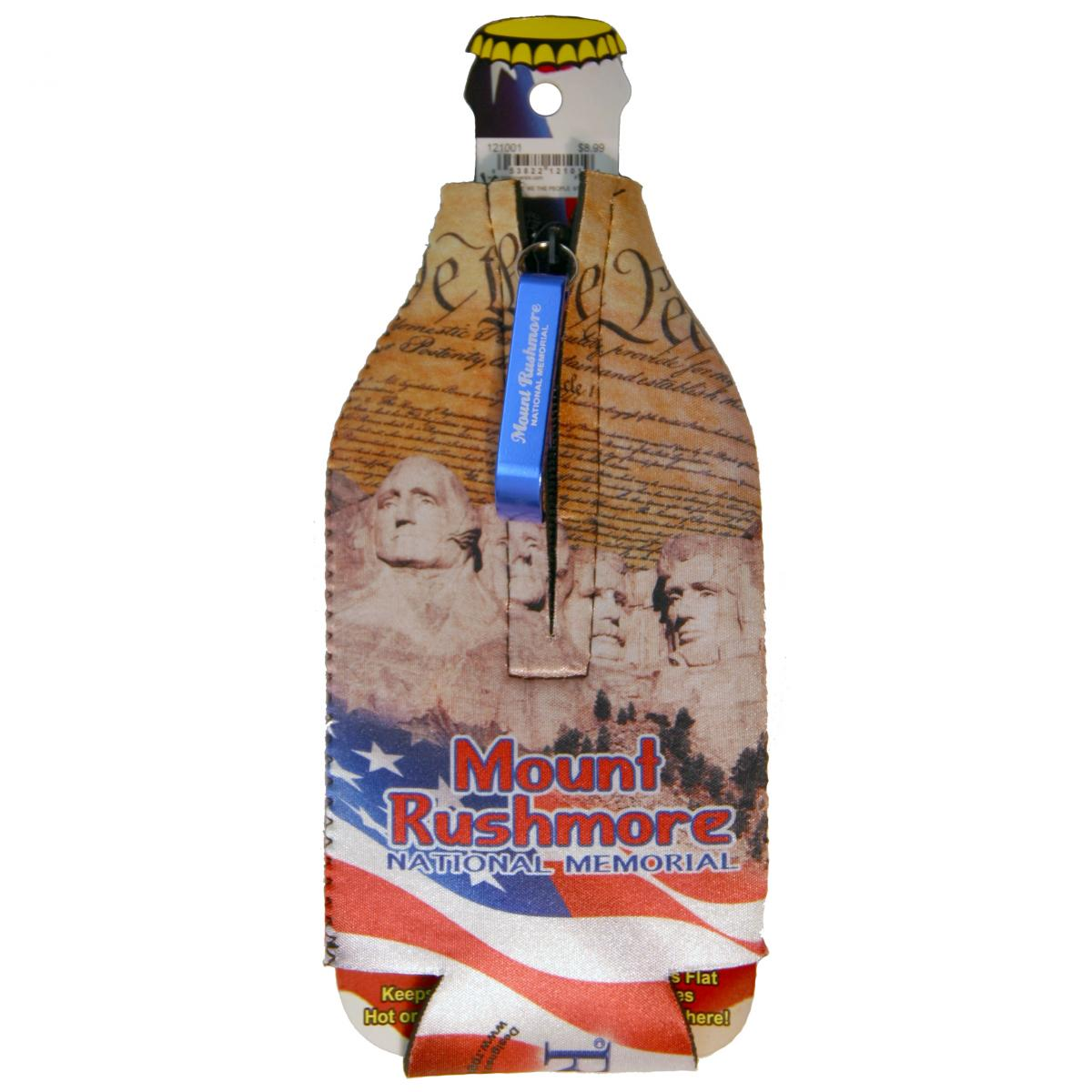 MOUNT RUSHMORE BOTTLE COOZIE