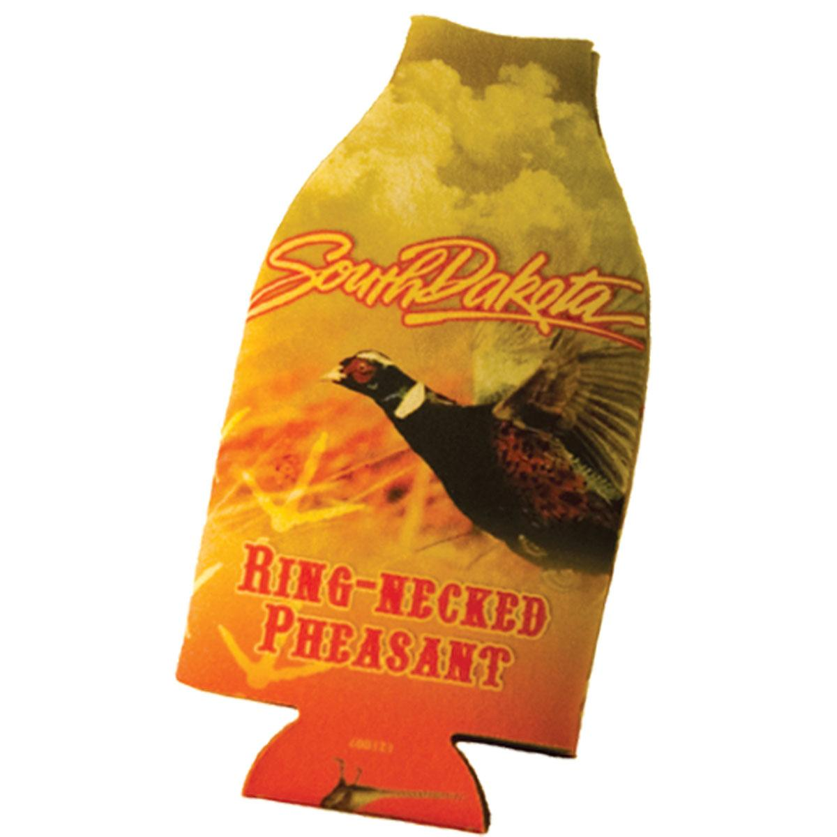 SOUTH DAKOTA PHEASANT BOTTLE COOZIE