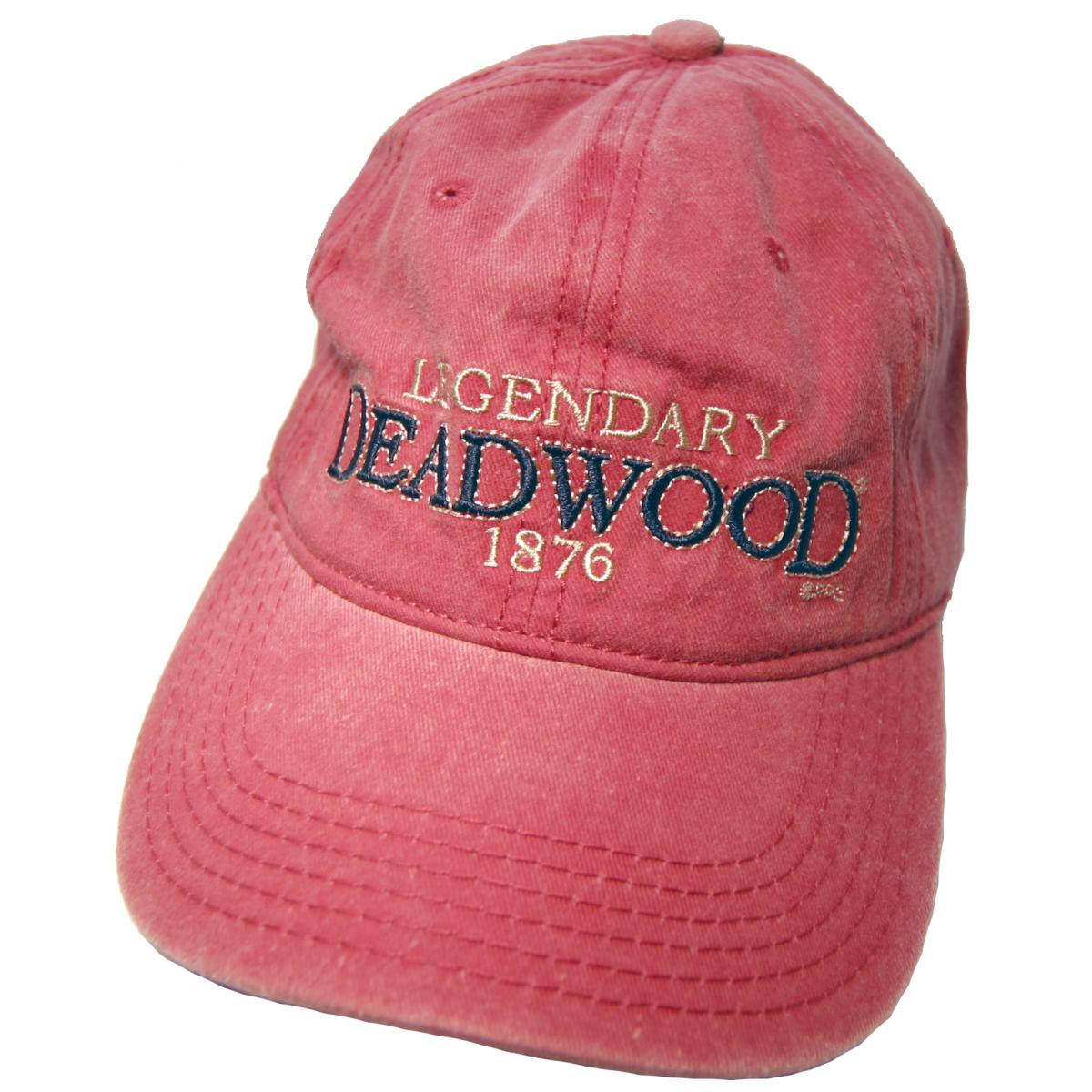 DEADWOOD MAROON HAT