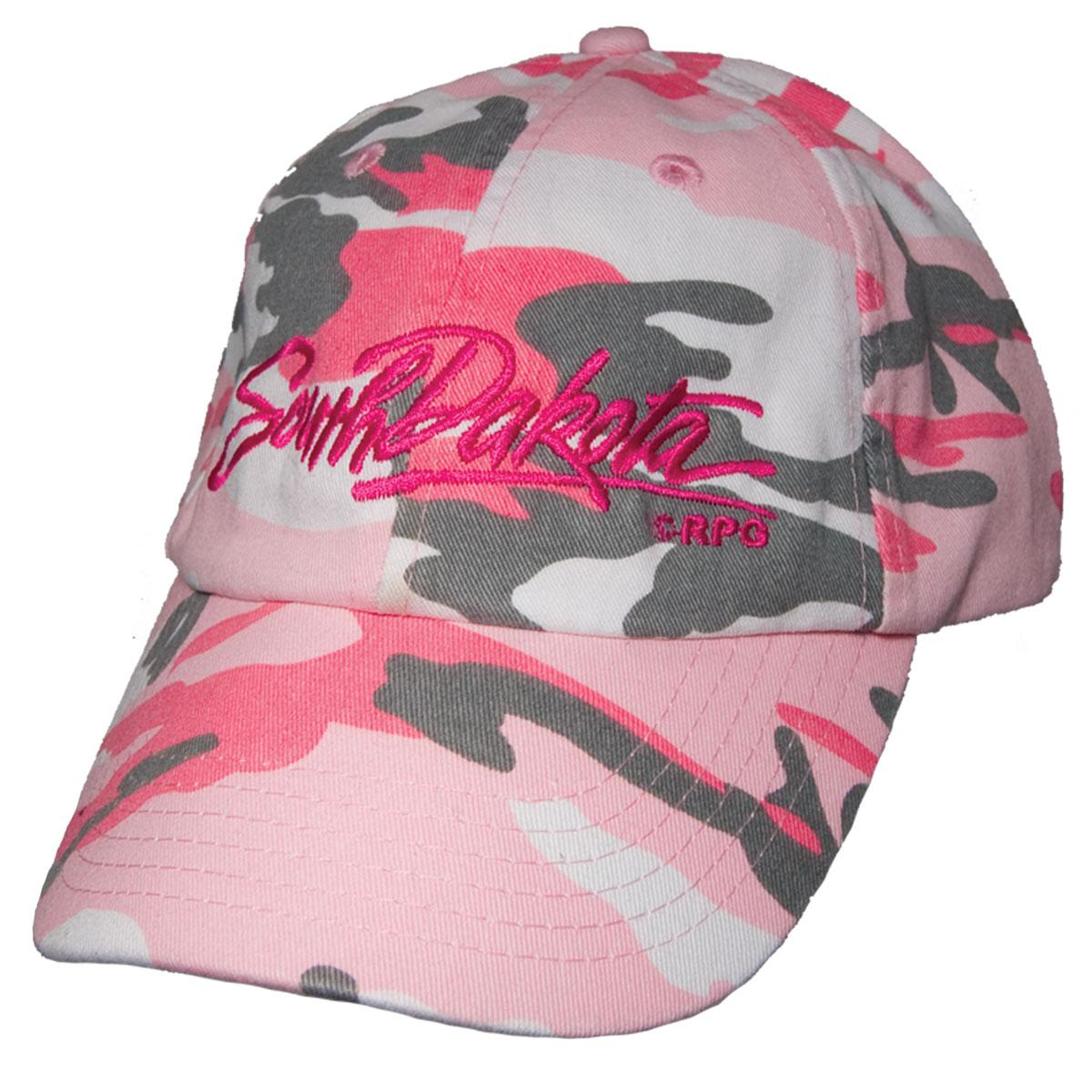 SOUTH DAKOTA PINK CAMO HAT