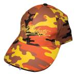 SOUTH DAKOTA ORANGE CAMO WITH LIGHT HAT