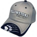 YELLOWSTONE GREY/BLACK HAT