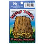 "DEVILS TOWER 3""X4"" CREST"