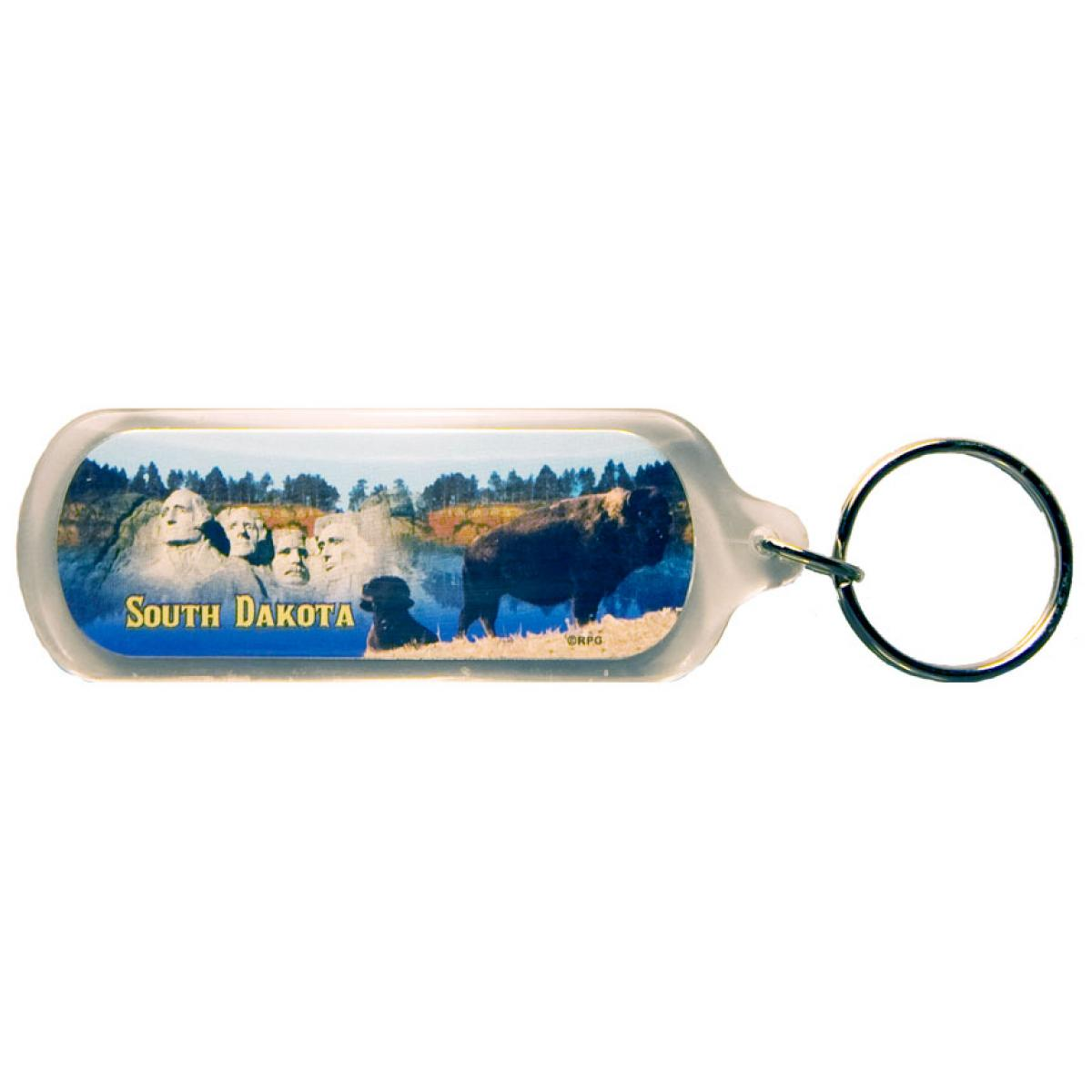 SOUTH DAKOTA MULTI-VIEW ACRYLIC KEYCHAIN