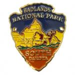 BADLANDS ARROWHEAD WALKING STICK EMBLEM