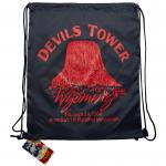 DEVILS TOWER DRAWSTRING BAG