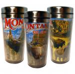 MONTANA GLITTER STAINLESS STEEL THERMAL MUG