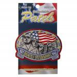 MOUNT RUSHMORE STAR PATCH