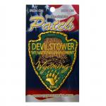 DEVILS TOWER ARROWHEAD PATCH
