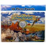 SOUTH DAKOTA 96 PIECE PUZZLE