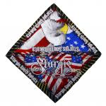 STURGIS, SD RED/WHITE/BLUE EAGLE BANDANNA