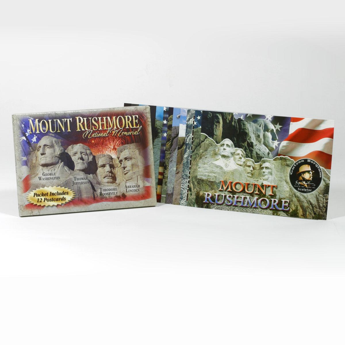 MOUNT RUSHMORE POSTCARD PACKET (12 CARDS)