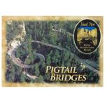PIGTAIL BRIDGES POSTCARD