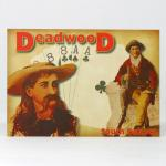 DEADWOOD WILD BILL/CALAMITY JANE POSTCARD