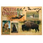 SOUTH DAKOTA WILDLIFE POSTCARD