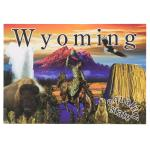 WYOMING LINE POSTCARD
