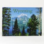 WYOMING BLUE LAKE POSTCARD