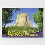 DEVILS TOWER RIPPED BORDER POSTCARD