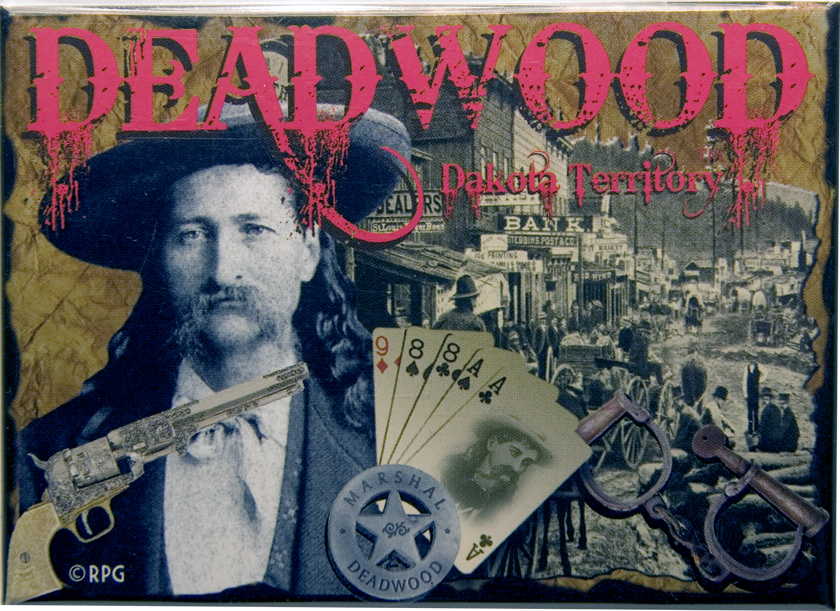 "DEADWOOD WILD BILL 2.5"" X 3.5"" MAGNET"