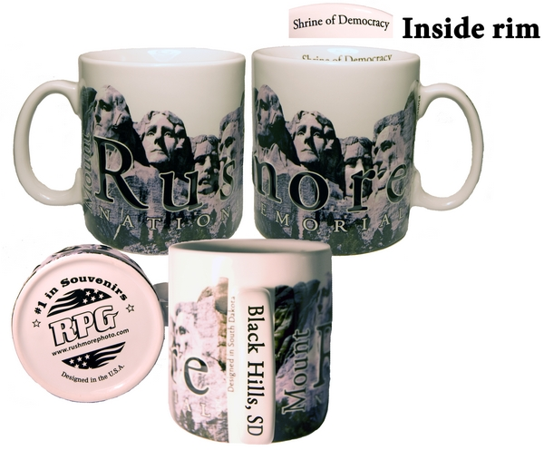 MOUNT RUSHMORE CITY MUG