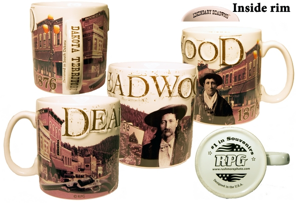 DEADWOOD CITY MUG