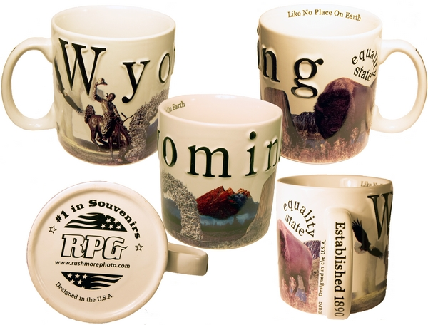 WYOMING CITY MUG
