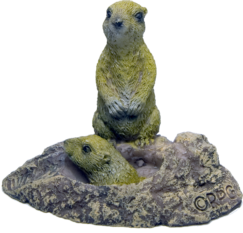 PRAIRIE DOG POLY STATUE