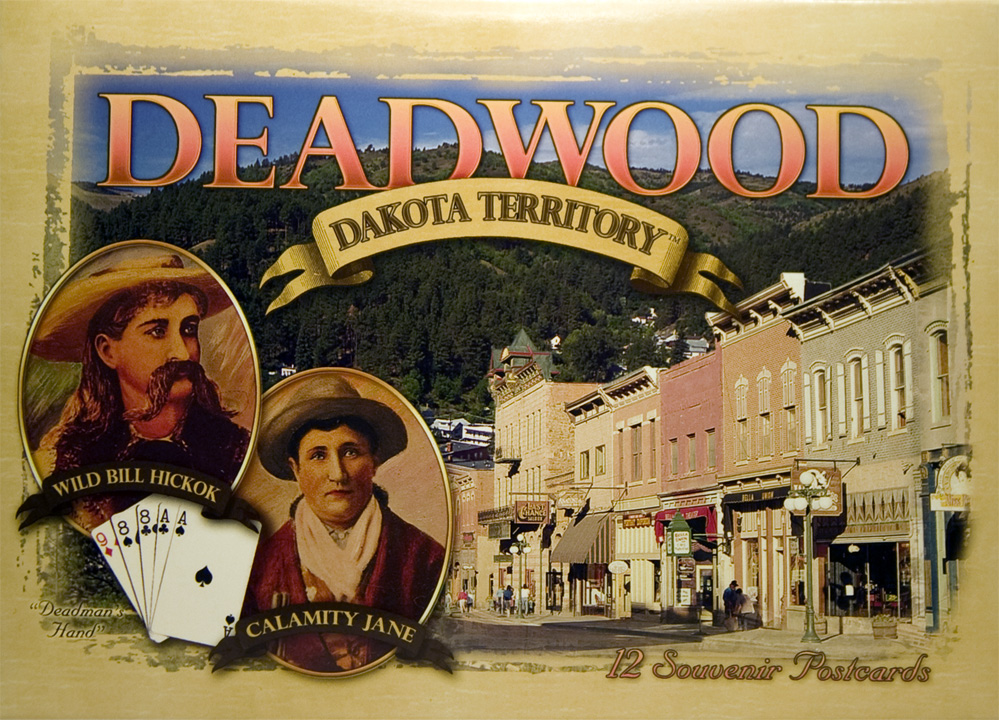 DEADWOOD POSTCARD PACKET (12 CARDS)