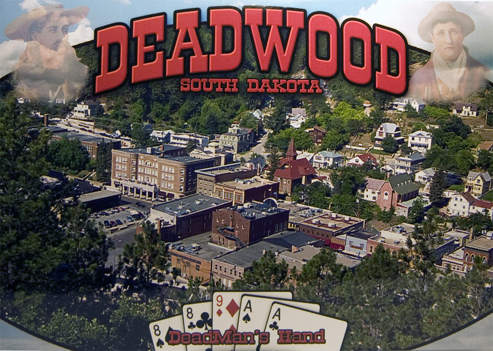 DEADWOOD OVERLOOK POSTCARD