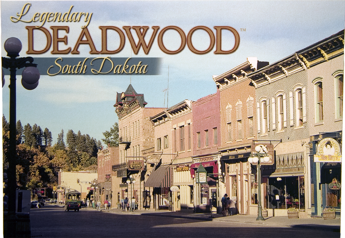 DEADWOOD DAY POSTCARD