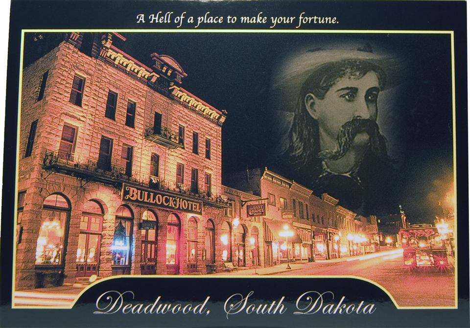 DEADWOOD NIGHT POSTCARD