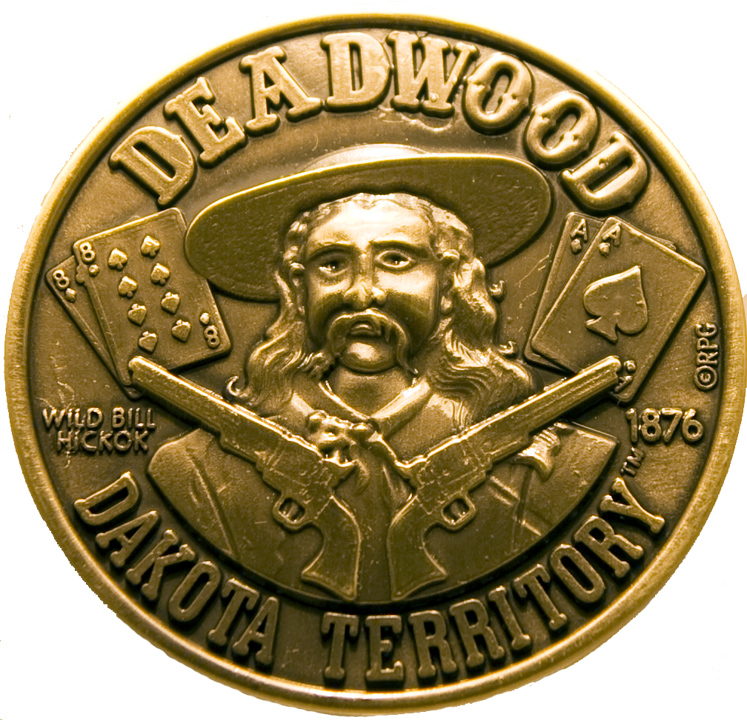 DEADWOOD DESK MEDALLION