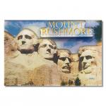 MOUNT RUSHMORE DAY 3-D ACRYLIC MAGNET